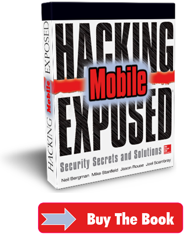 Buy Hacking Exposed Mobile Now